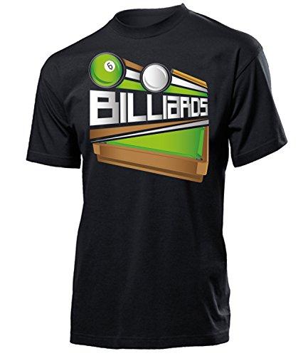 Billiards Geburtstag Geschenk Herren Männer t Shirt Tshirt t-Shirt zubehoer Billard Bekleidung Oberteil Hemd Kleidung Outfit Spruch Fun witzig Artikel