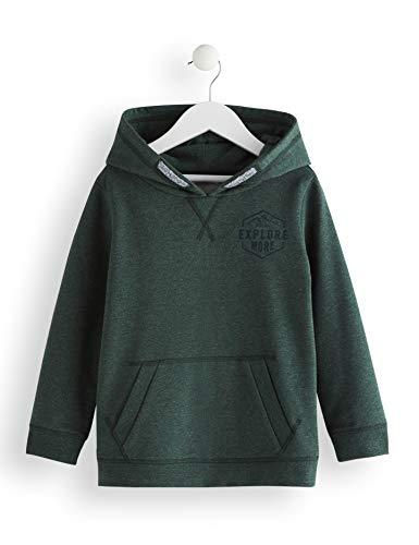 Amazon-Marke: RED WAGON Jungen Kapuzenpullover Green Marl Hoodie, Grün (Green), 110, Label:5 Years