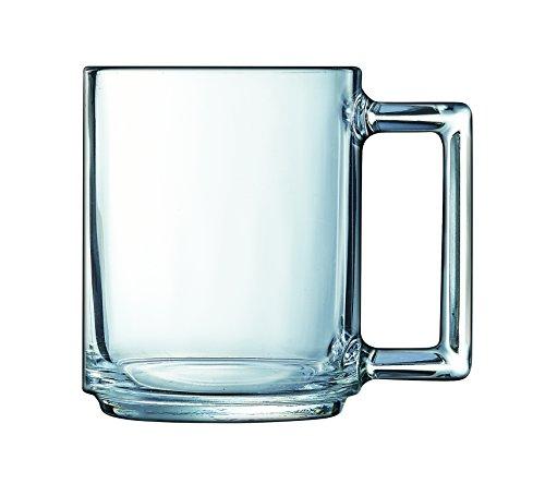 Dajar A La Bonne Heure - Taza (cristal, 250 ml, 7,1 cm), color transparente