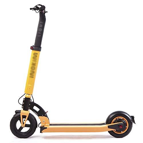 Z-SEAT Scooter eléctrico de Alta Velocidad, Scooter Adulto Scooter eléctrico Plegable portátil Kick Scooter Velocidad máxima 25 mph 250W Potencia del Motor y 100 kg de Carga para Adultos