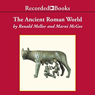 The Ancient Roman World audiobook cover art