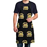 Schoolhouse Rock Knowledge Is Power Men'S Fun Cooking Kitchen Garden Apron, Husband'S Birthday Apron, Father'S Thanksgiving Gift