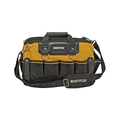 BOSTITCH BTST516155 Open Mouth Tool Bag, 16-Inch