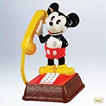 Mickeys Talking Telephone 2011 Hallmark Ornament