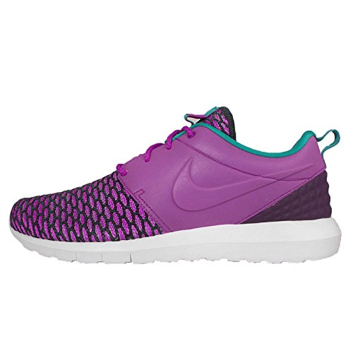 Nike - Roshe NM Flyknit PRM - 746825500 - El Color: Violeta - Talla: 42.5 EU
