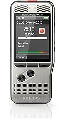 Philips DPM6000 Digital diktamen enhet inspelningsenhet, kontroll genom pushbuttons, inkl. diktamen programvara SpeechExec 10, ny version
