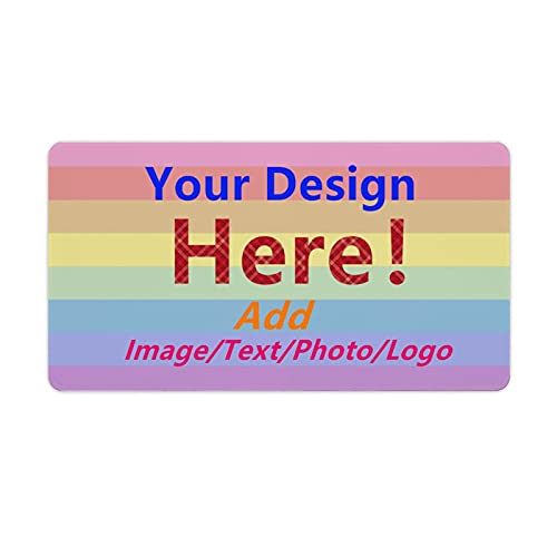 Custom Mouse Pad Personalized Large Gaming Mouse Pads Customized Your Own Non-Slip Rubber Mouse Pad with Photo/Image/Text or Art Design
