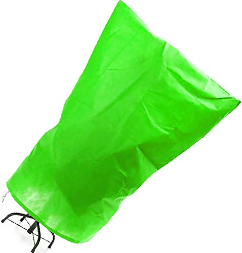 Protección de invierno con cordón para plantas, protección contra heladas, 120 ×...