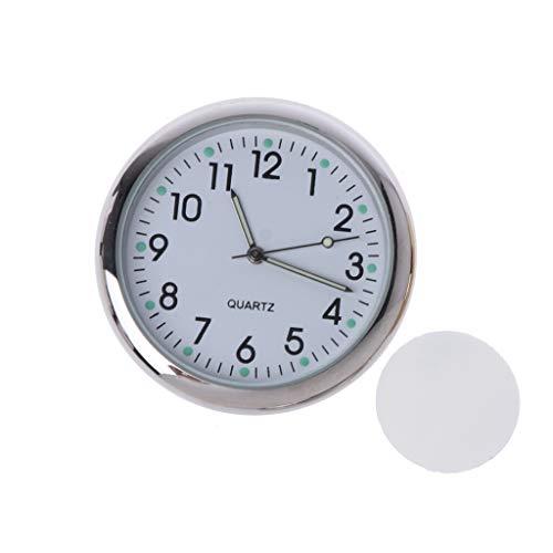 Gjyia Universal Auto Uhr Aufklebbare Elektronische Uhr Armaturenbrett Nachtleuchtende Dekoration Für SUV Autos