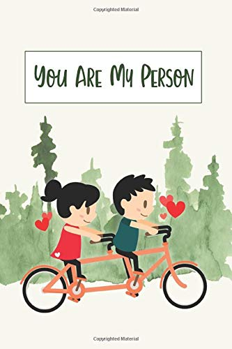 You Are My Person: A Playful Journal Celebrating Love