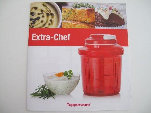 TUPPERWARE Kochbuch Extra Chef Rezeptheft Deutsch