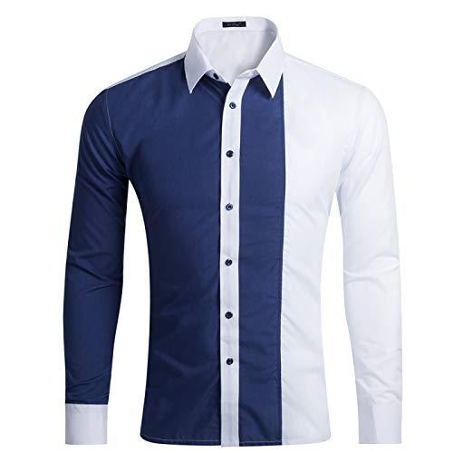 Camisa de hombre de manga larga casual de hombre camisa de hombre ropa de hombre