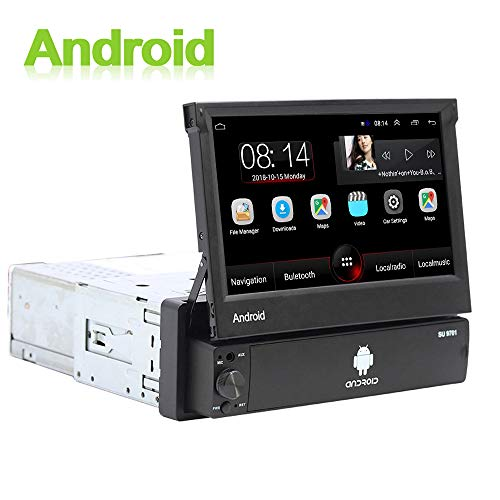 Android 1 DIN Radio Coche GPS CAMECHO 7
