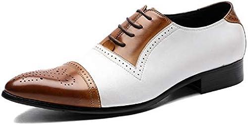 MAKAFJ Mens Brogues Brogues Brogues Schuhe Lace Patent Classic Vintage Brautkleid Schuhe Büro Casual Business Schuhe  gute Qualität