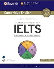 دليل كامبريدج الرسمي للايلتس، كتاب الطالب مع إجابات وقرص مضغوط (اللغة الإنجليزية - كامبردج)