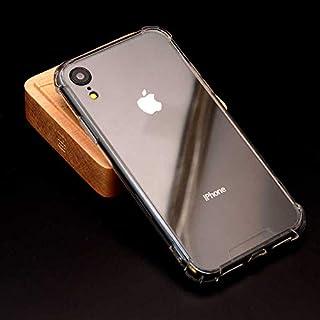 Zore Apple iPhone XR Kılıf 6.1inç Zore Nitro Anti Shock Köşeleri Çıkıntılı Koruyucu Silikon,Şeffaf
