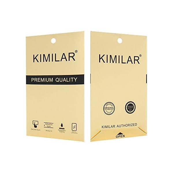 KIMILAR [3 Pcs] Pantalla Compatible con Samsung Galaxy Watch 42mm/Galaxy Watch 3 41mm Protector Pantalla, Templado… 5