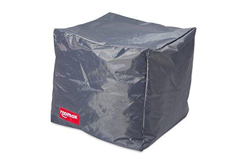 Roomox Cube Lounge-Sitzwürfel Stoff 40 x 40 x 40 cm, Grau