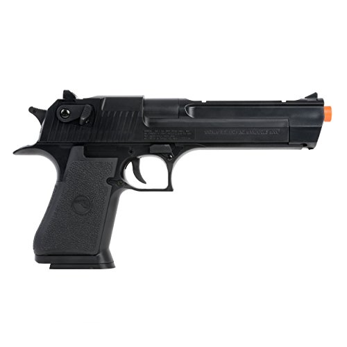 Desert Eagle Spring Powered Airsoft Pistol with High Capacity Magazine, 170-220 FPS