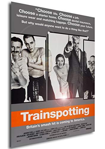 Instabuy Poster Trainspotting - La Vida en el Abismo Vintage Movie Poster - A3 (42x30 cm)