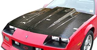Brightt Carbon Creations ED-YNE-025 Cowl Hood - 1 Piece Body Kit - Compatible With Camaro 1982-1992