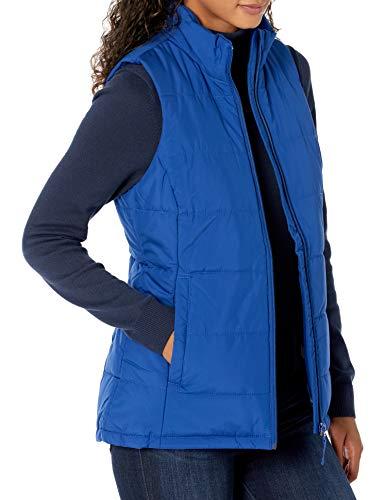 Amazon Essentials Chaleco Globo de Peso Medio Outerwear-Vests, Azul Real, M