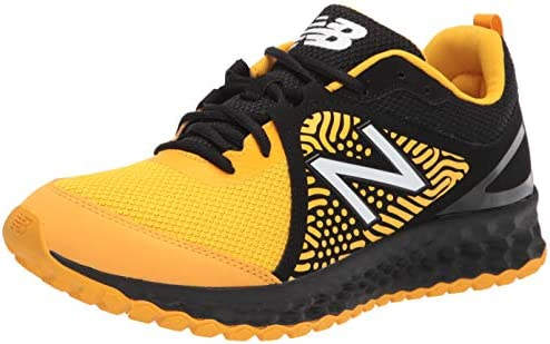 Black and yellow mens shoes