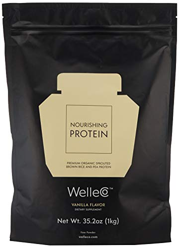 Welleco Nourishing Protein Vanilla 1kg Pouch 352 Oz