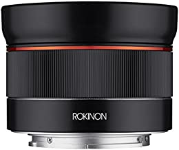 Rokinon AF 24mm f/2.8 Wide Angle Auto Focus Lens for Sony E-Mount, Black