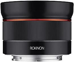 Rokinon AF 24mm f/2.8 Wide Angle Auto Focus Lens for Sony E-Mount, Black (IO24AF-E)