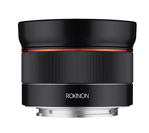 Rokinon Lente de foco automático AF 24 mm f/2.8 grande angular para Sony E-Mount, preta (IO24AF-E)