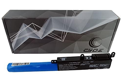 CYDZ 10.8V 2600mAh Bateria de Laptop A31N1601 A31N1537 A31LP4Q 0B110-00440000 para ASUS X541NA X541NC X541SA X541SC X541UA X541UAK X541UJ X541UV X541UVK A541SA A541UA D541NA D541NC D541SA D541SC