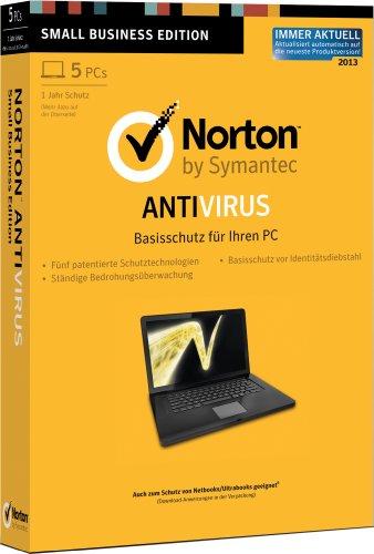 Norton Antivirus 2013 - 5PCs [import allemand]