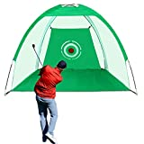 JARDIN Golf Hitting Nets for Backyard Driving Golf Training Aids with Target Carry Bag Practice Nets Golf Simulators for Home Indoor Use Outdoor Sports