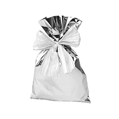 P.N.P. Plast 041032.09 stofzuigerzakken 40 x 60 cm, zilverkleurig, 25 stuks