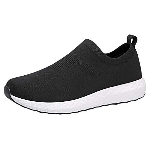 catmoew Laufschuhe Sneakers Herren Mesh Outdoorschuhe Trainer Leichtathletikschuhe Turnschuhe Atmungsaktive Schuhe Bequeme leichte Turnhalle Sport Schuhe