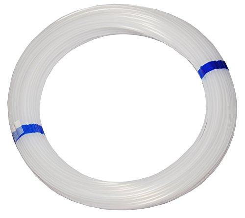 Polyethylen-Schlauch PE Pneumatikschlauch, 8mm, 50 Meter Rolle, Farbe: natur