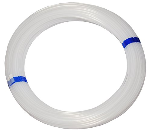 Polyethylen-Schlauch PE Pneumatikschlauch, 6mm, 50 Meter Rolle, Farbe: natur