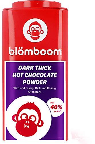 Blömboom - Einzelhandel Metall - Dark Thick Hot Chocolate Powder BIO (200 g)