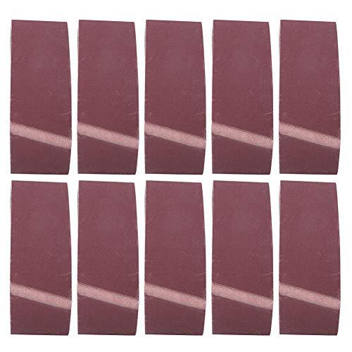Cintas abrasivas de 10 piezas, correa de lijado de óxido de aluminio de 457x75 mm para herrajes para muebles de madera(1000)