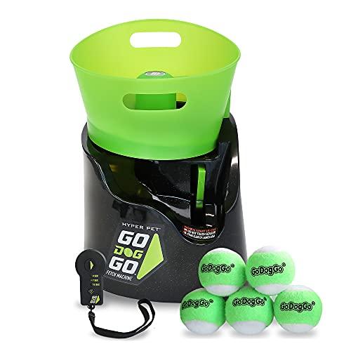 GoDogGo Inc. Fetch Machine G4 for Dogs Automatic Dog Ball Launcher Standard,...