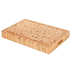 best Bamboo cutting board for meat