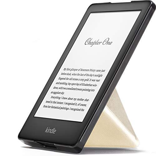 Forefront Cases Smart Cover per Kindle 2019 | Custodia Protettiva Magnetica per Amazon Kindle 2019 Modello (10ª generazione) | Origami Smart Auto Svegliati Sonno Funzione | Sottile Leggera | Oro