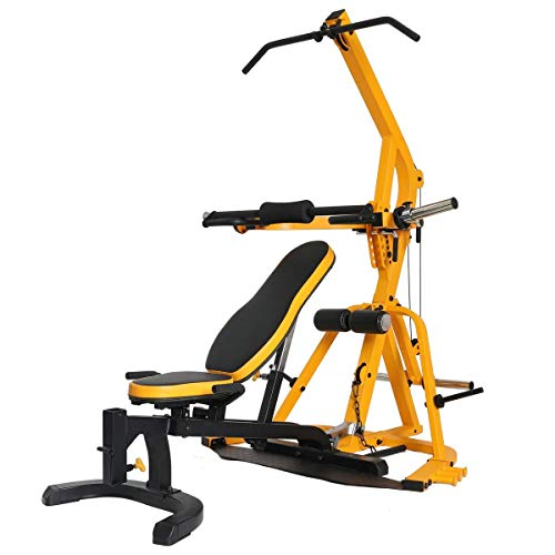 POWERTEC Workbench LeverGym, Yellow