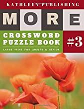 Crossword Puzzle Books: More Crosswords for beginners Large Print for adults & senior (crossword books quick)
