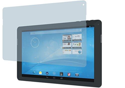 4ProTec I 2 Stück GEHÄRTETE ANTIREFLEX Bildschirmschutzfolie für Trekstor SurfTab xintron i 10.1 OHNE 3G Displayschutzfolie