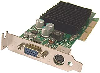 Dell Nvidia GeForce2 MX400 64MB Low Profile SFF RCA Svideo AGP Video Graphics Card