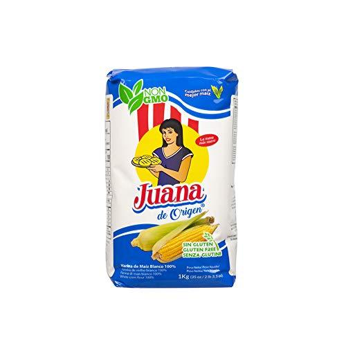 JUANA de Origen - Farina di mais bianco - Harina de Maiz Blanco, 1kg