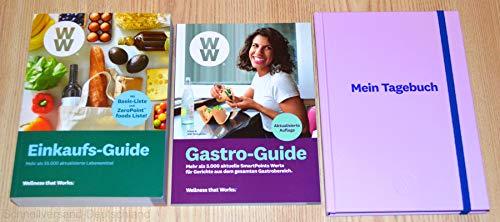 Charmate® Beauty Set //Gesichtspflege//Weight Watchers - Wellness that Works/Healthy Kitchen WW Einkaufs-Guide + Gastro-Guide + Mein Tagebuch Lavendel - FitPoints® / SmartPoints® Plan / 2019