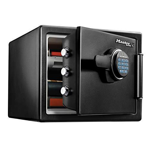 Master Lock Caja Fuerte de Seguridad [Ignifuga y Resistente al Agua] [Combinación Digital] [Large] -LFW082FTC, Negro